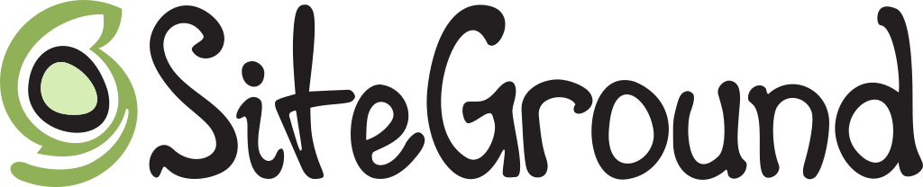 SiteGround logo with a referral link to their website